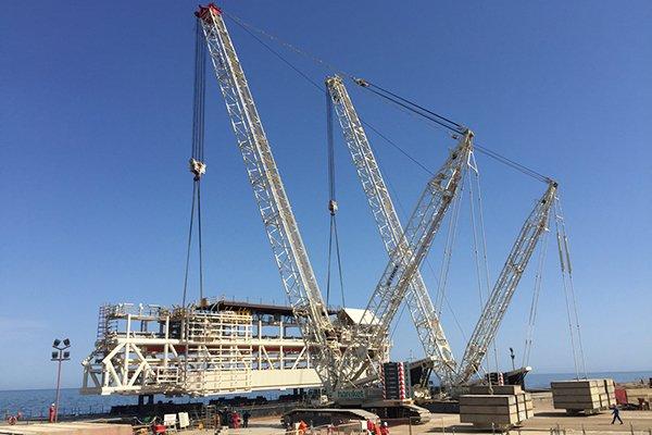 Şah Deniz 2 Projesinin Platformlarını Taşıdı