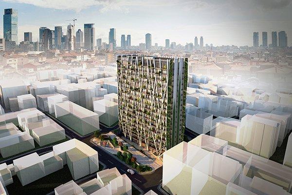 Türkiye'nin En Yeşil Binasının Tercihi