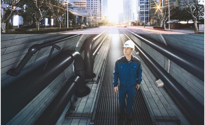 Alt yapı projeleri için güvenli çözümler sunuyor