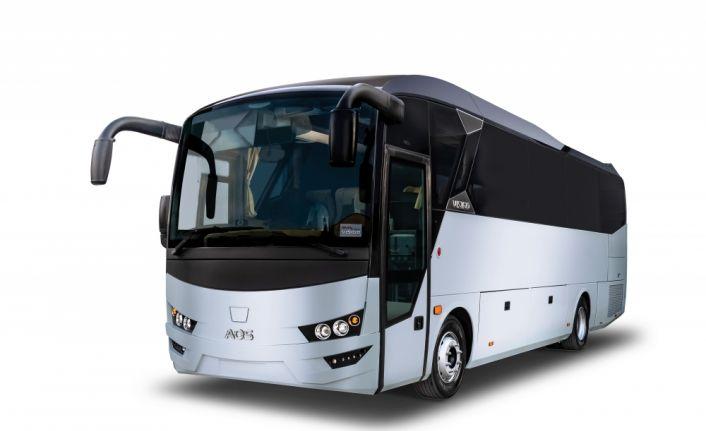 İlk sağdan direksiyonlu otobüsüEuro Bus Expo'da