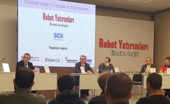 Robot Yatırımları Zirvesi ve Sergisi'nin birinci paneli başladı