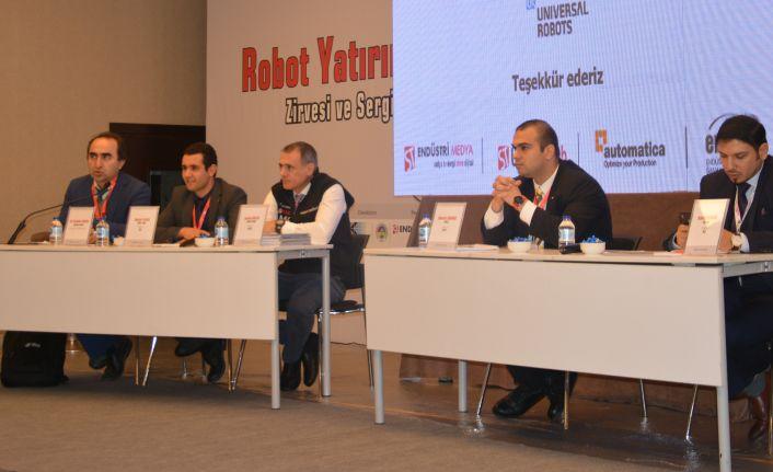 Robot Yatırımları Zirvesi'nde otomotiv ve beyaz eşya sektörü bir araya geldi