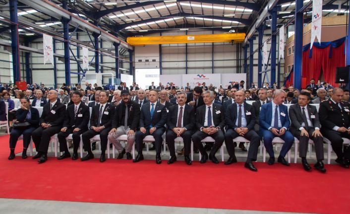 Turbokompresör fabrikası açıldı, Türkiye'de ilk ve tek