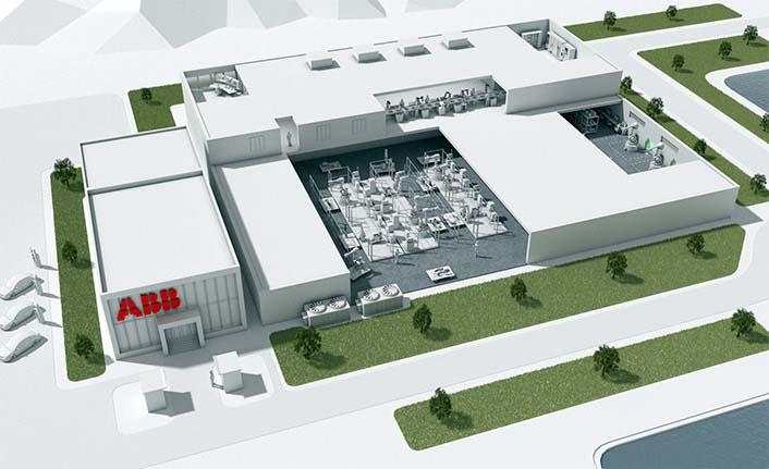 ABB geleceğin fabrikasını Şanghay'a kuruyor