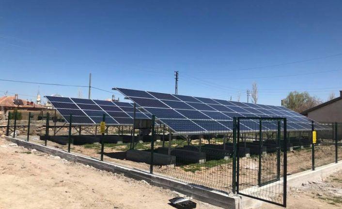 Karaman'da 20 kWp gücünde GES devreye alındı