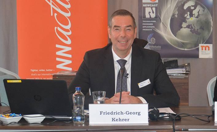 Messe Düsseldorf Metal ve Akışkan Teknolojileri Küresel Portföy Direktörü Friedrich Kehrer'in iş gündemi…