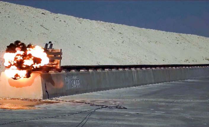 Türkiye'nin ilk süpersonik raylı test hattı açıldı