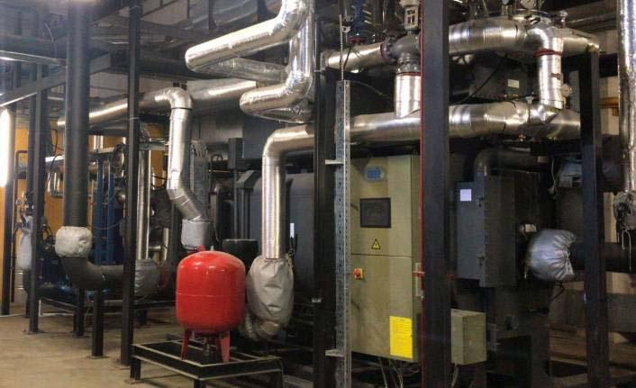 Borusan Makina kojenerasyon tesisi kurdu