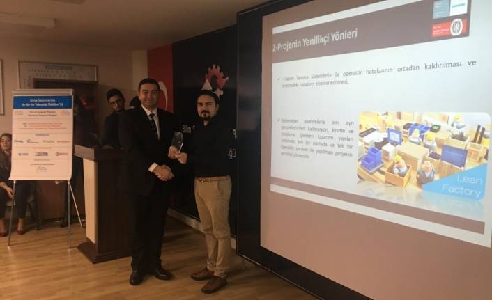 Digital Twin projesiyle 3'üncülük ödülü