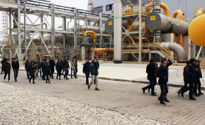 Manisa Celal Bayar Üniversitesi'nden Alaşehir JES Ziyareti