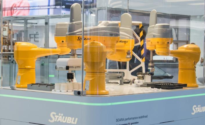 Stäubli, yeni SCARA robotu ile yüksek performans sağlıyor