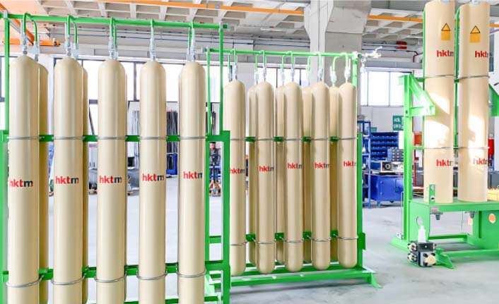 HKTM, hidrolik akümülatör ve stant imalatında güvenlik ön planda