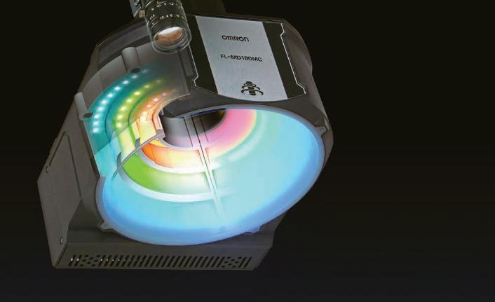 Omron'dan aydınlatma ve görüntü işlemeyi birleştiren akıllı kamera