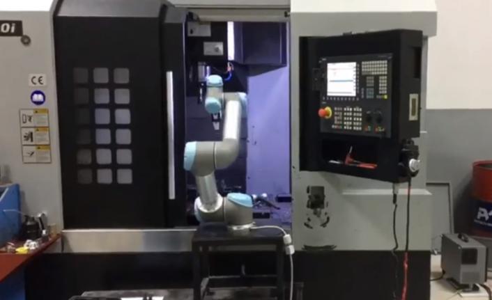 Özsamur, cobot ile süreçlerini hızlandırıyor