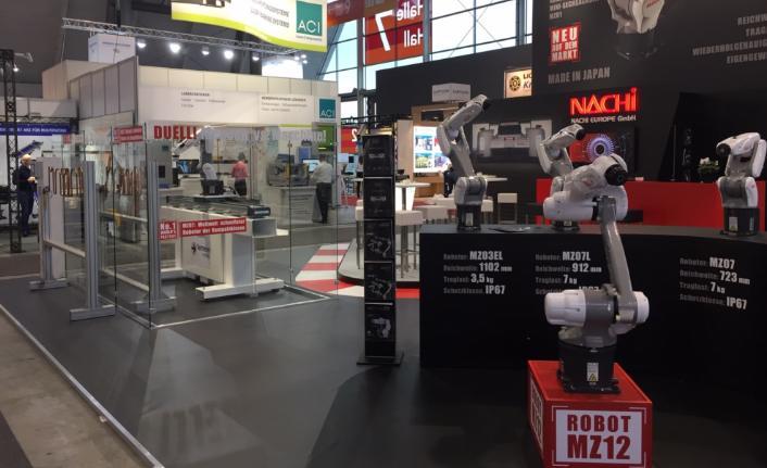 Almanya'da robot uygulamalarıyla ilgi topladı