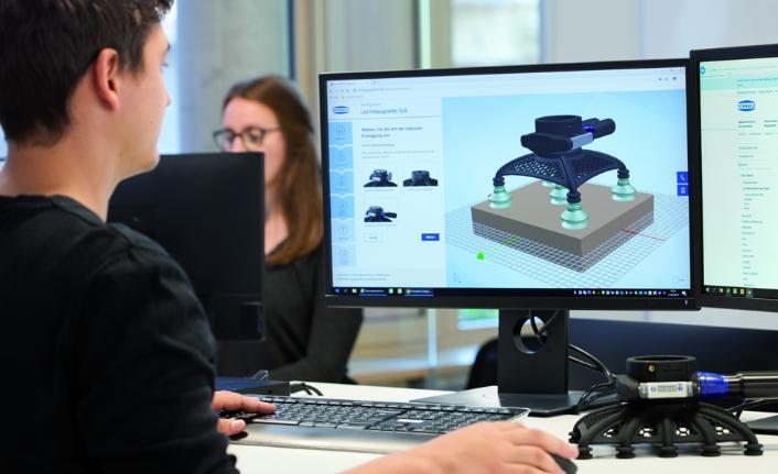 Bir tıklama kadar yakın 3D yazıcı ile üretilen özel tutucular