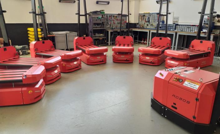 Robos Monitor ile AGV filosunun takibini kolaylaştırıyor