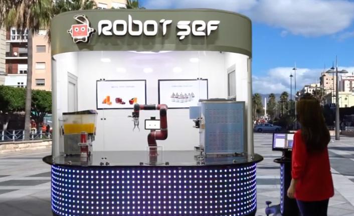 Robot Şef ile robot ve gıda sektörlerini birleştirdi