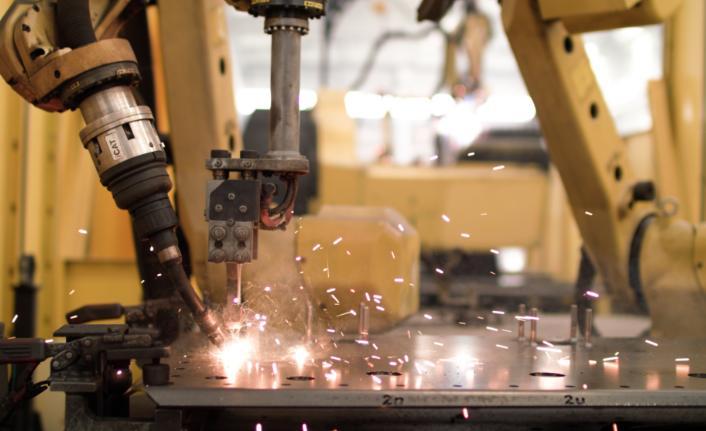Robotlarla kaynak süreçlerinde hız, kalitede süreklilik sağladı
