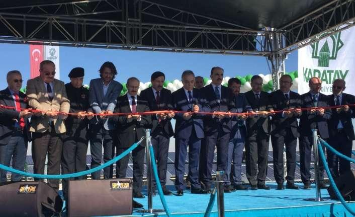 Karatay Belediyesi'nin elektrik ihtiyacı GES'ten karşılanacak