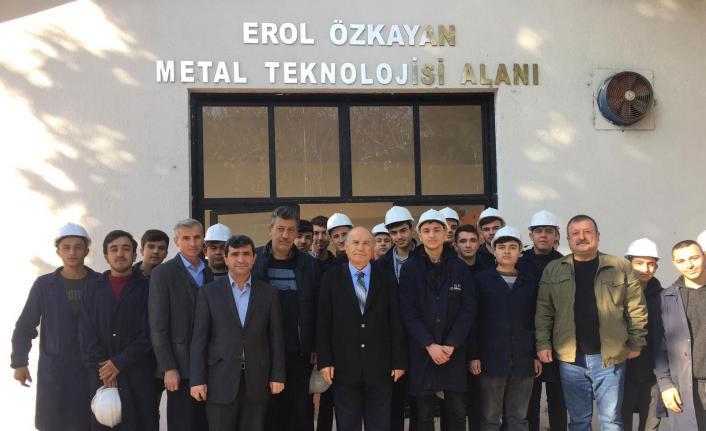 Erol Özkayan'dan gençlere endüstri 4.0 mesajları
