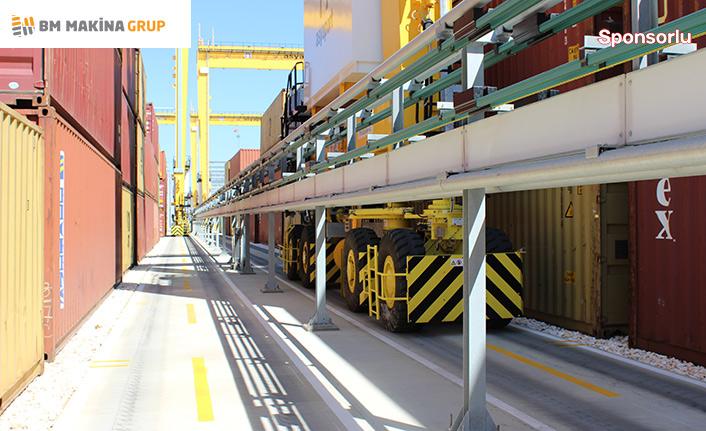 E-RTG sistemiyle limanlarda yüzde 95 tasarruf sağlıyor