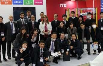 Üretim yönetim sistemini Japonya'daki fuarda anlattı