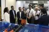 Dünya Başkanı lider makina üreticilerini ziyaret etti