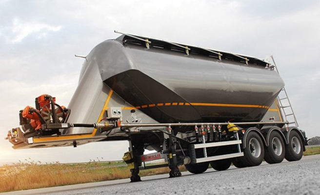Silobas ve ADR'li Tankerini Tanıttı