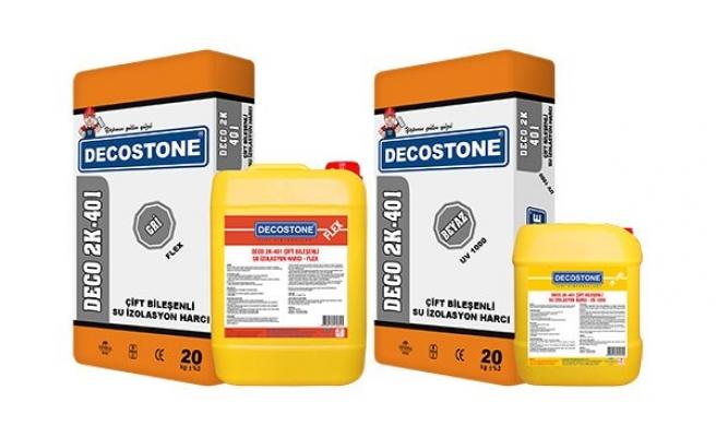 Çimento-Akrilik Esaslı 2 Komponentli Ürünleri İle Avantaj Sağlıyor