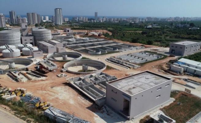 20 milyon Euro'luk arıtma tesisinde sona gelindi