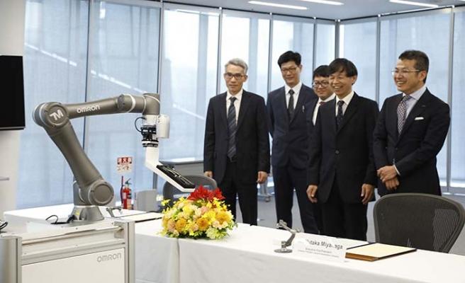 Kolaboratif robotlar konusunda dev ortaklık
