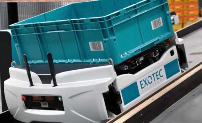 Depo yönetim robotlarına 17.7 milyon dolar