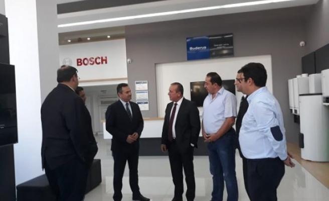 Kıbrıs'daki showroomu yeni konseptiyle kapılarını açtı