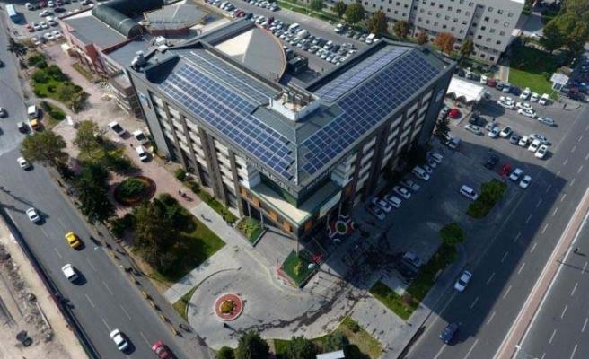Melikgazi Belediyesi GES ile 3 milyon lira tasarruf sağladı