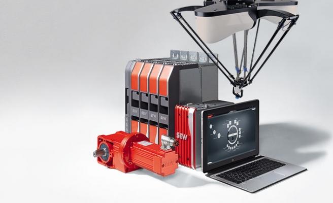 Paralel delta robot kiti