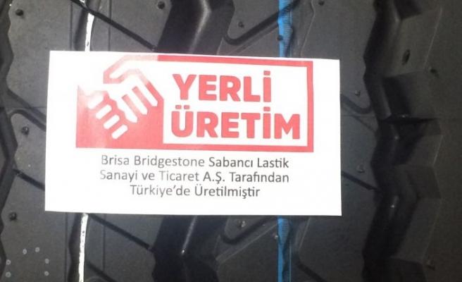 Türkiye'nin ilk Yerli Üretim logolu lastiği