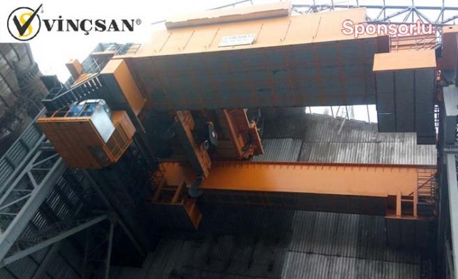Demir çelik sektörüne özel vinçler