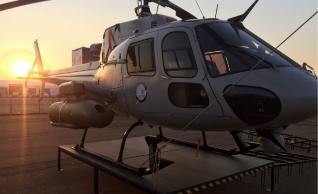 Helikopterin taban zırhını yapacak