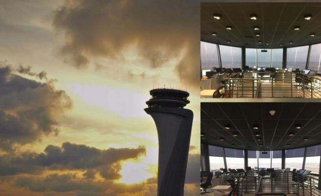 İstanbul Havalimanı Hava Trafik Kontrol Kulesi'ne Permisan'dan estetik ve fonksiyonel çözüm