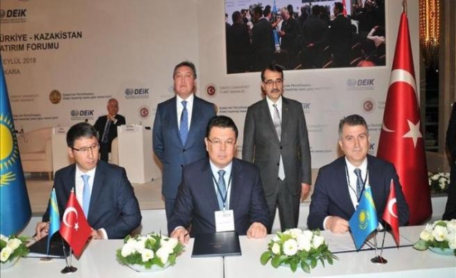 Zorlu'dan Kazakistan'da GES anlaşması