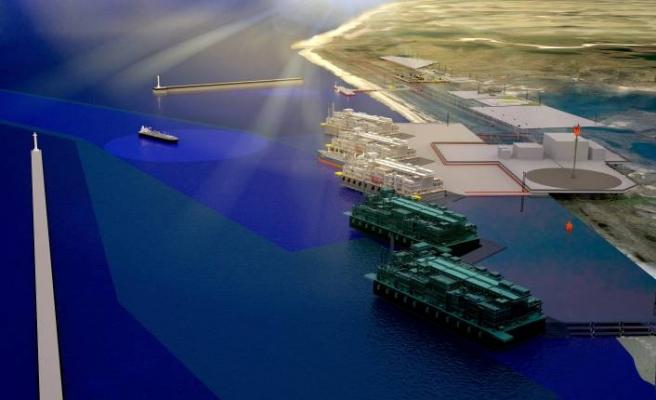 LNG projesi 2,2 milyar euro'luk imza