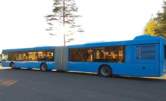 MAZ, Allison tam otomatik şanzımanlı otobüsünü görücüye çıkardı