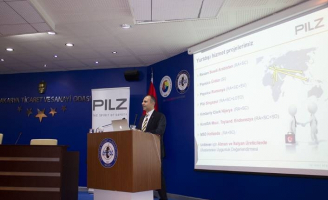 Pilz'in makina emniyeti seminerine yoğun ilgi