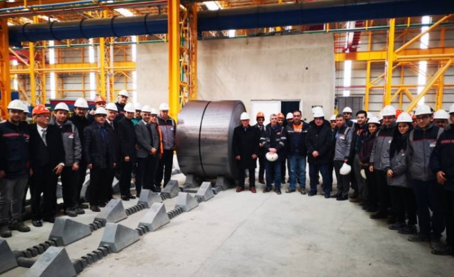 Yıldız Demir Çelik'den soğuk haddeleme hattı yatırımı