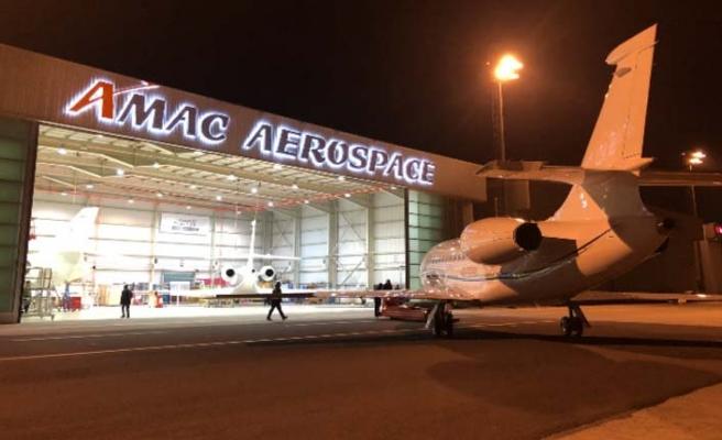 AMAC Aerospace Türkiye'deki ilk C bakımını gerçekleştirdi