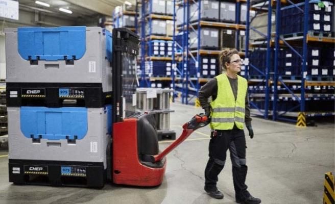 CHEP'in konteynerleri zaman ve maliyet tasarrufu sağlıyor