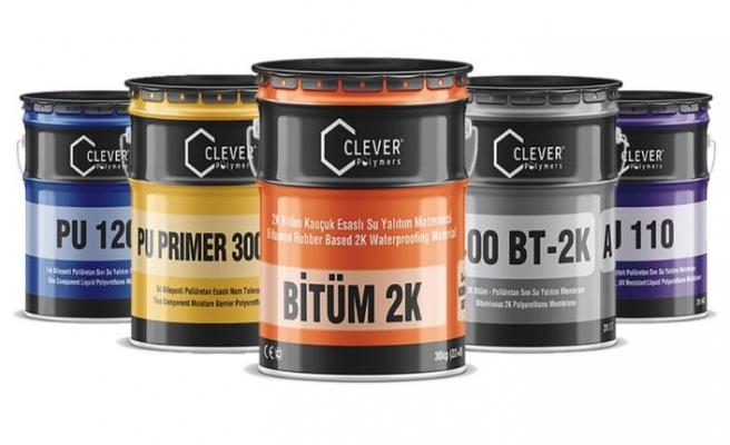 Clever Bitüm 2K ürünü ile yapılar daha güçlü