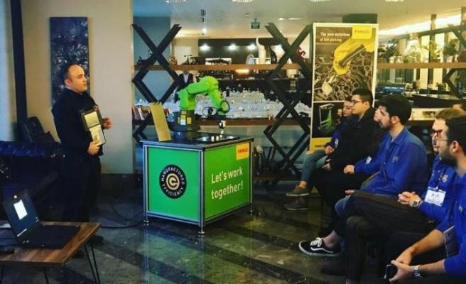 Fanuc'tan Geleceğin Liderleri'ne robotlu eğitim