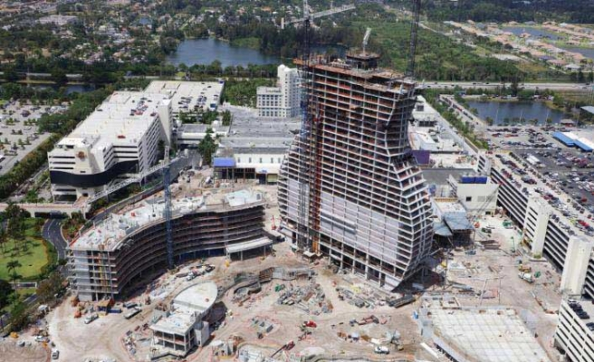 Gitar şeklindeki Hard Rock Hotel, Doka ile hızlı inşa ediliyor